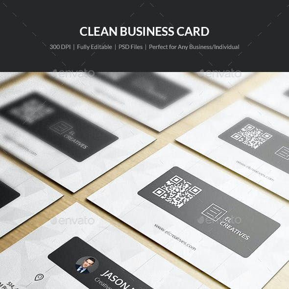 Clean Business Card - 18