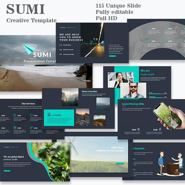 Sumi Creative Google Slide Template