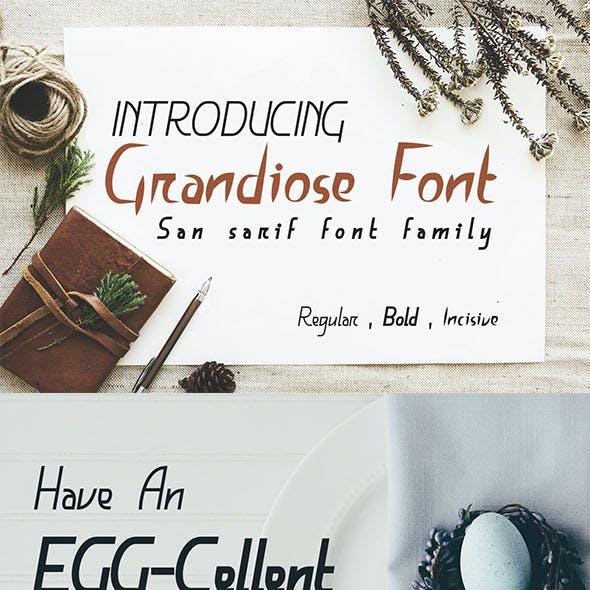 Grandiose Font
