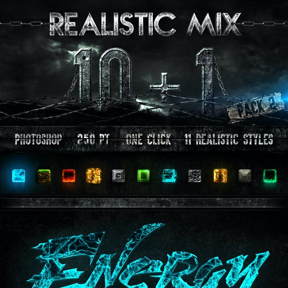 10+1 Realistic Styles Pack #2