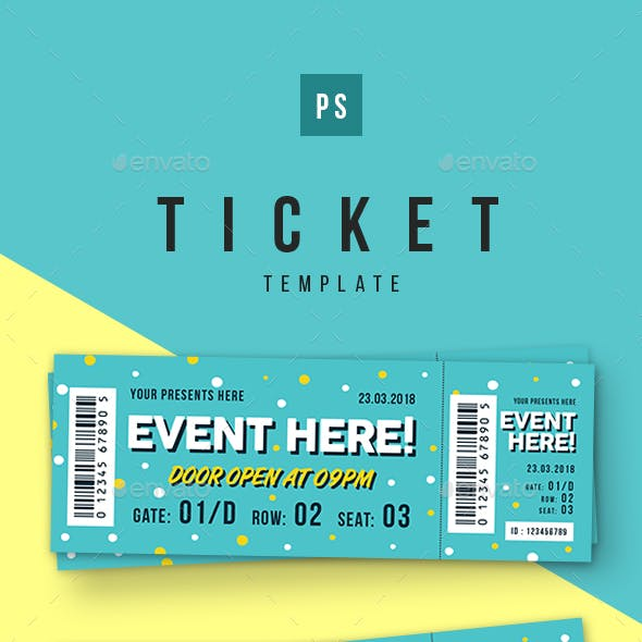 Event Ticket vol.5 by lilynthesweetpea