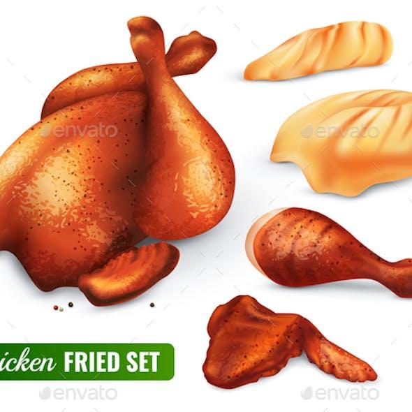 Fried Chicken Set