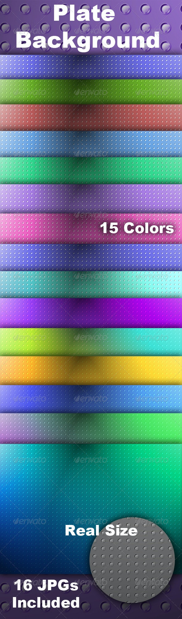 Plate Background - Backgrounds Graphics