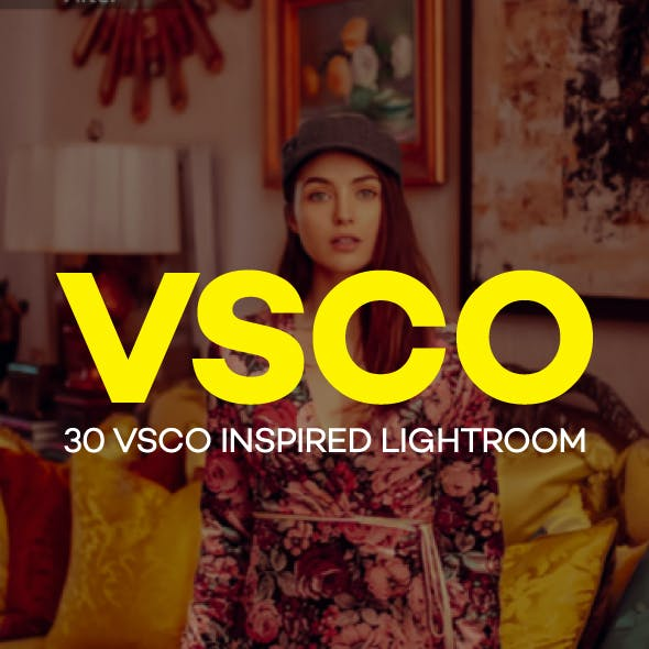 30 VSCO Inspired Lightroom Presets
