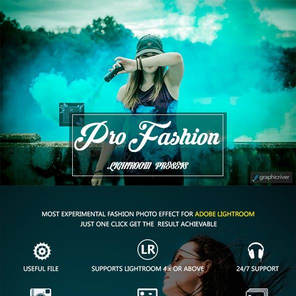 Pro Fashion LR Presets