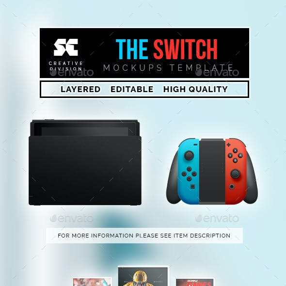 The Switch Console Mock-Up