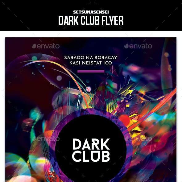 Dark Club Flyer