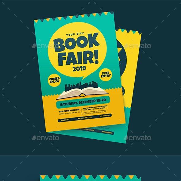 Book Fair event flyer