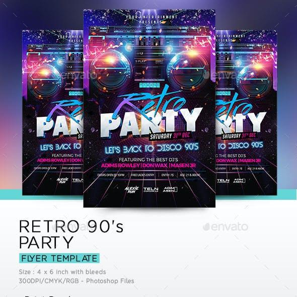 Retro 90's  Party