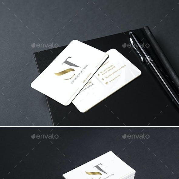 Realistic Branding - Stationery - Corporate ID Mockups Set3