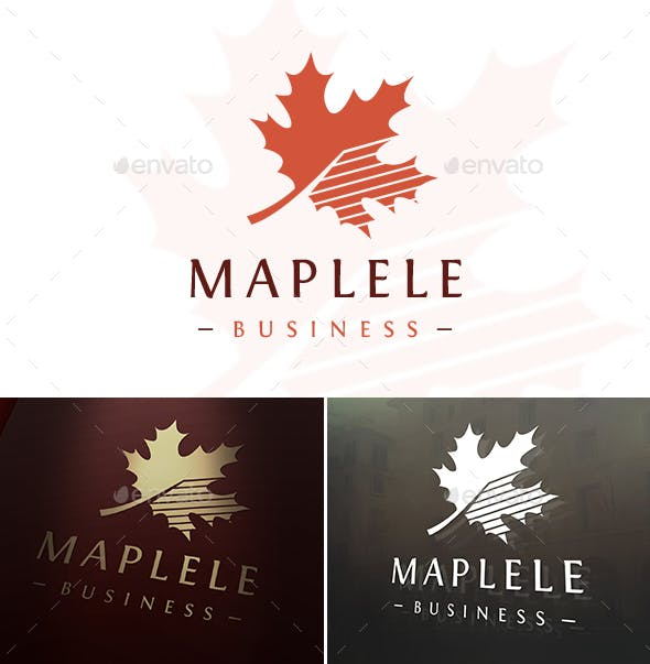 Maple Logo Template