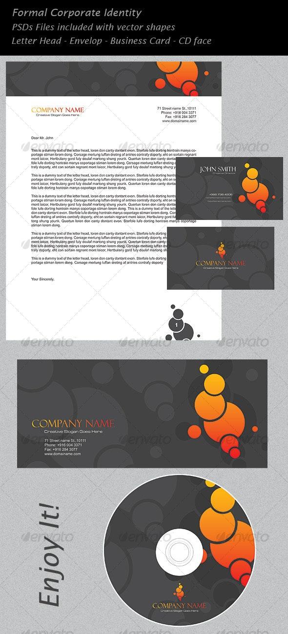 Bubble Corporate Identity - Stationery Print Templates
