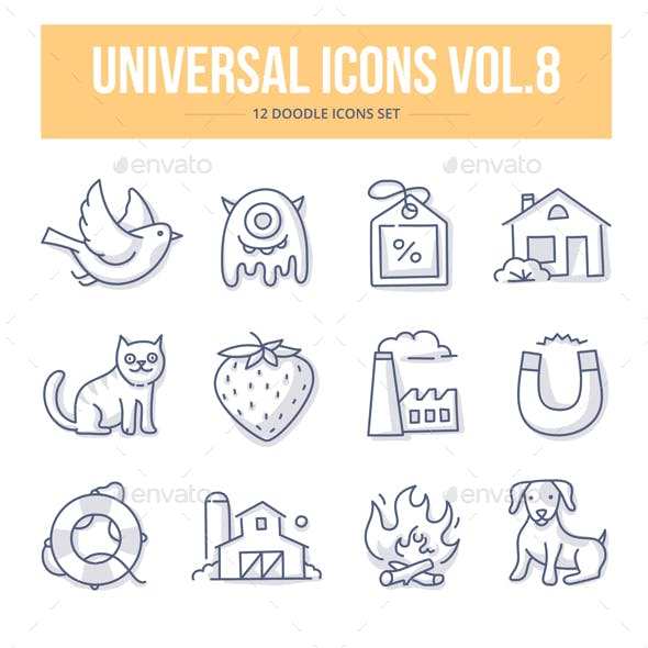 Universal Doodle Icons vol.8