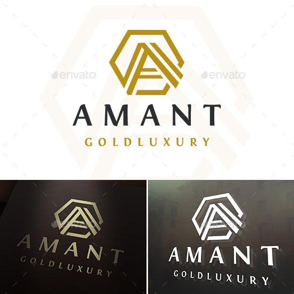 Amant A Letter Logo