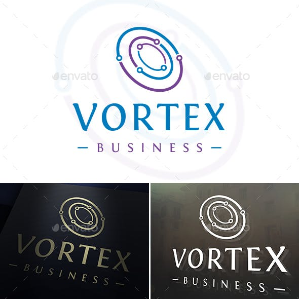 Digital Vortex Logo Template
