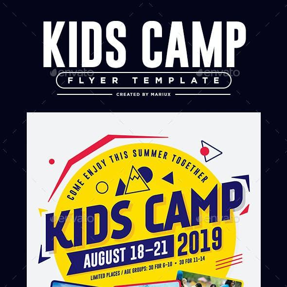 Kids Camp Flyer/Poster