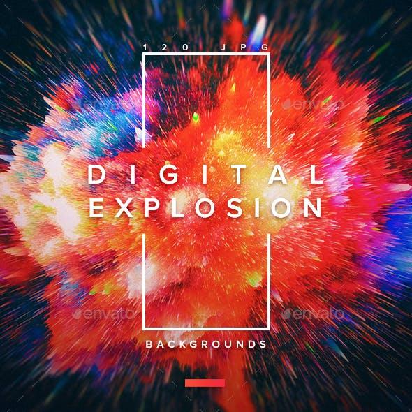 120 Digital Explosion Backgrounds