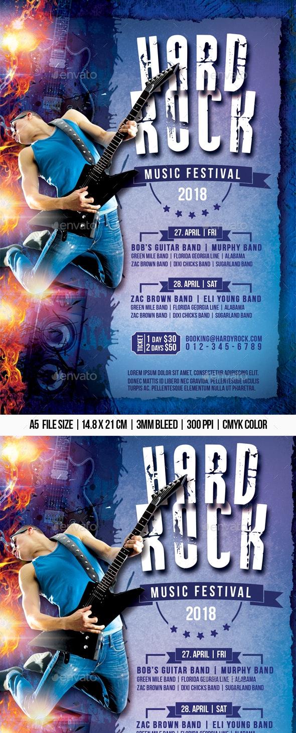 Hard Rock Music Festival - Concerts Events