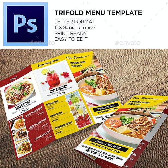 Restaurant Menu - Food Menu Template