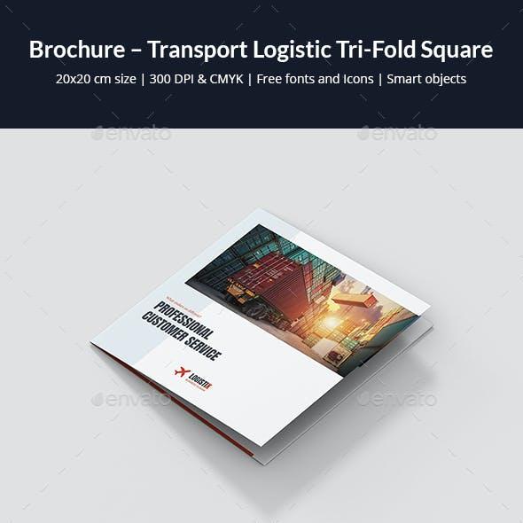 Brochure – Transport Logistic Tri-Fold Square