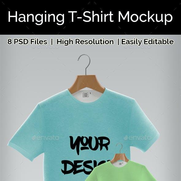 Hanging Tshirt Mockup