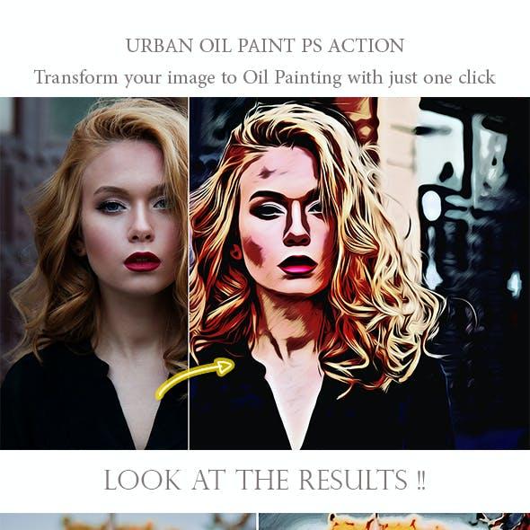 Urban Oil Paint PS Action