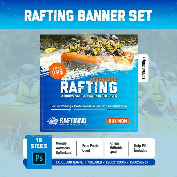 Rafting Banner