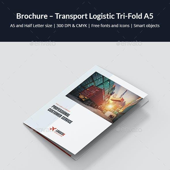 Brochure – Transport Logistic Tri-Fold A5