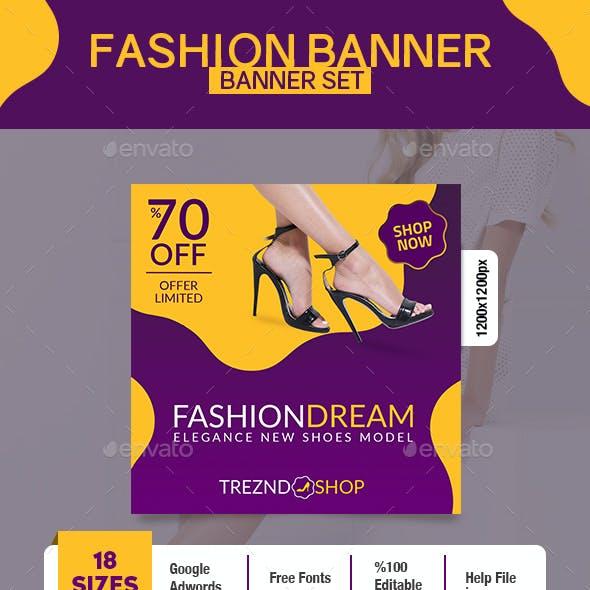 Fashion Shoes Banner