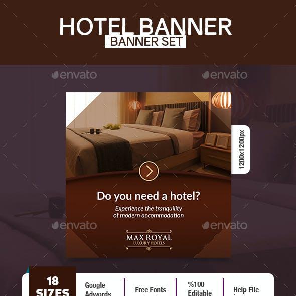 Luxury Hotel Banner