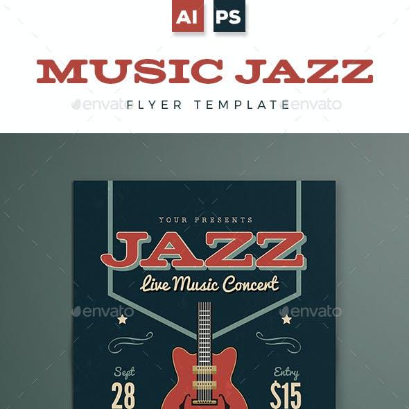 Music Jazz Flyer / Poster