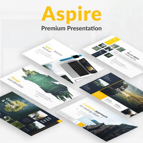 Aspire Premium Google Slide Template
