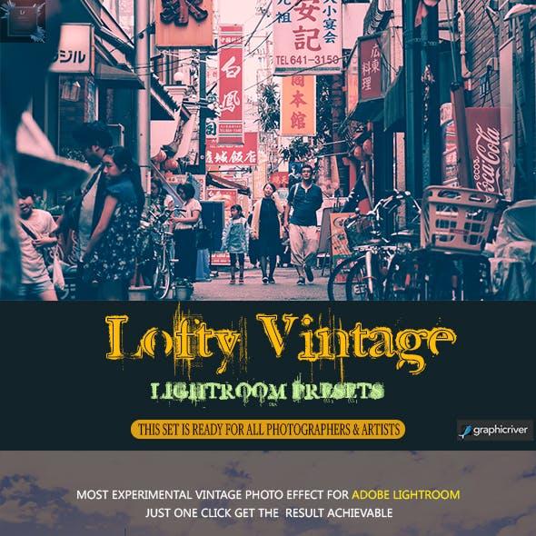 Lofty Vintage LR Presets