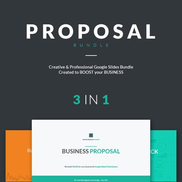 Proposal Google Slides Bundle