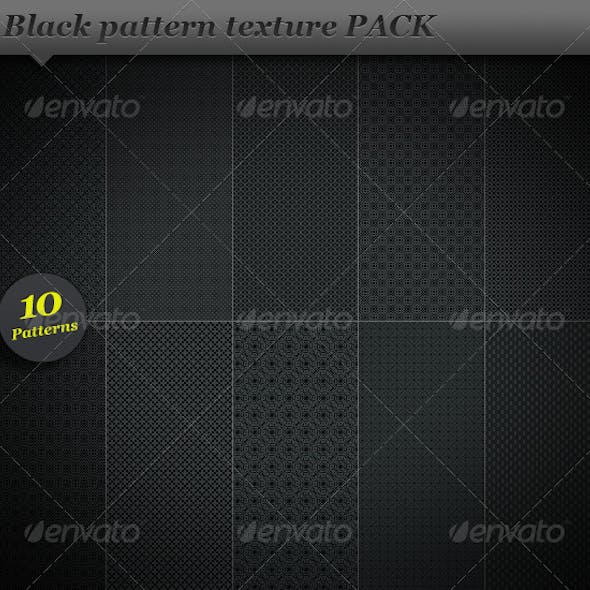 Black pattern background texture