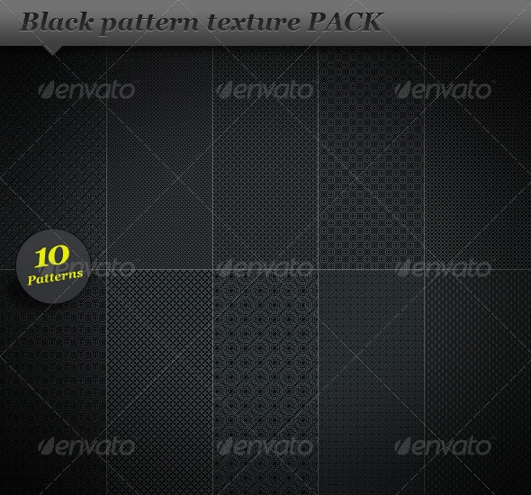 Black pattern background texture - Miscellaneous Textures