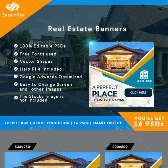 Real Estate Banners - AR