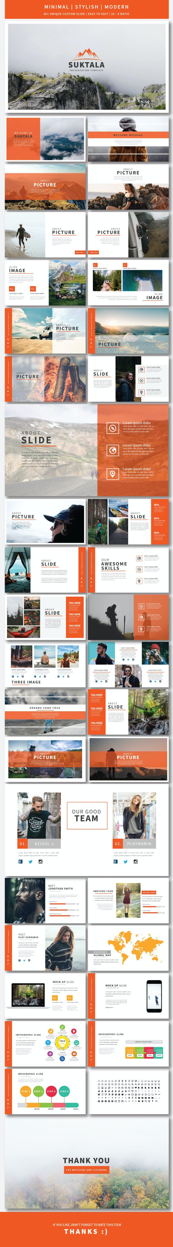 Suktala Google Slide Template - Google Slides Presentation Templates