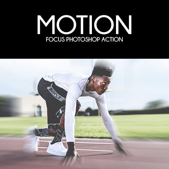 Motion Focus Photoshop Action