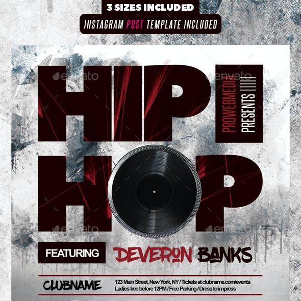 Hip Hop Event Flyer