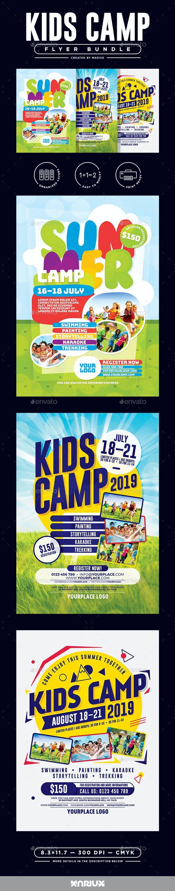 Kids Camp Flyer/Poster Bundle
