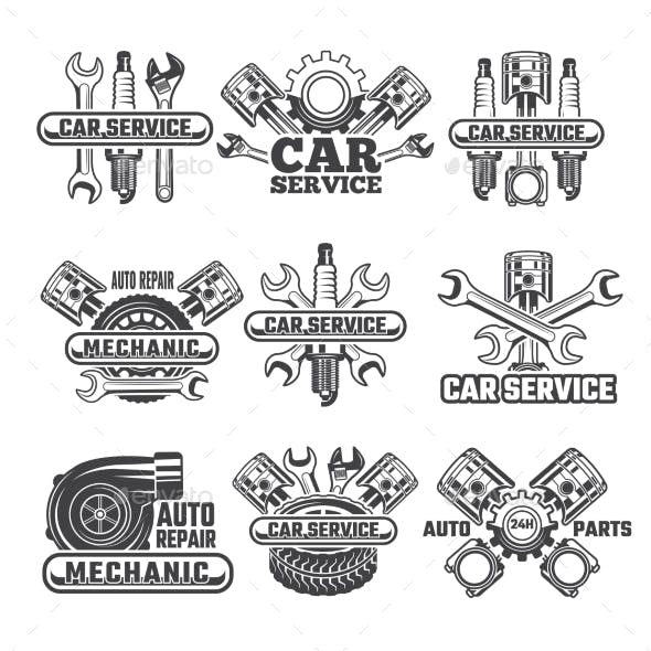 Design Template of Labels and Badges