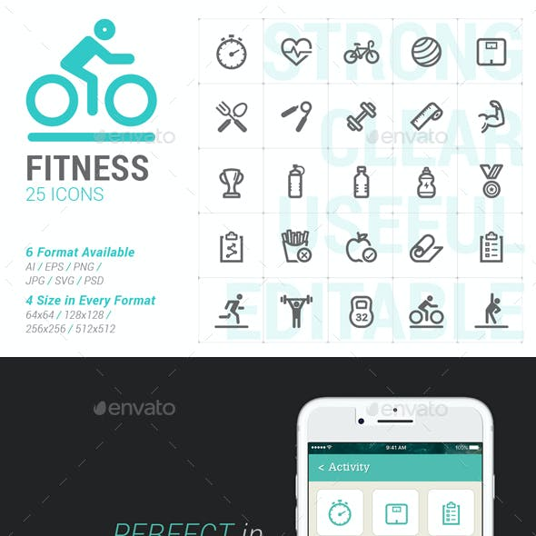 Fitness Mini Icon