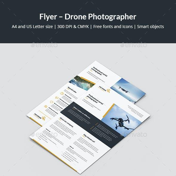 Flyer – Drone Photographer