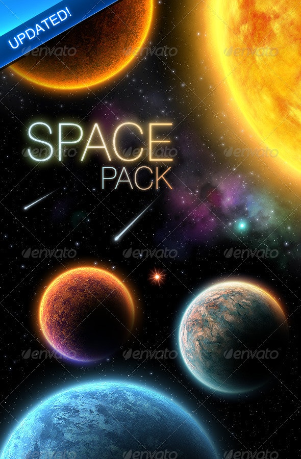 Space Pack - Backgrounds Graphics