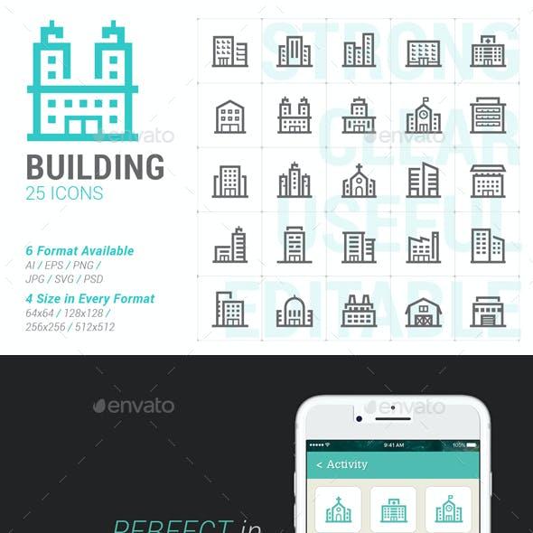 Building Mini Icon