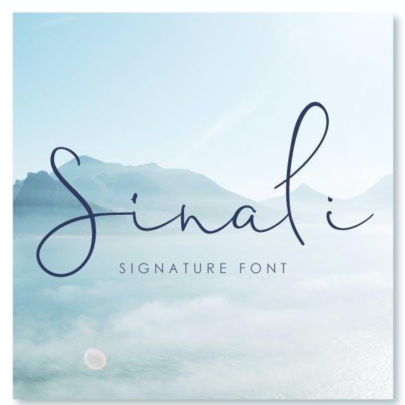 Sinali Font
