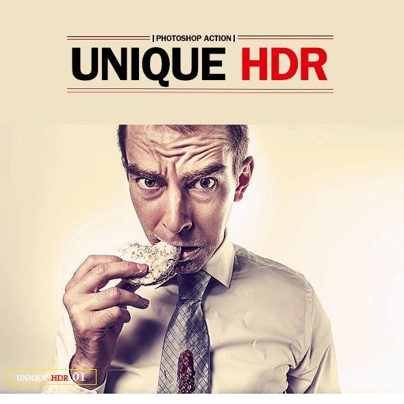 10 Unique Hdr Photoshop Action
