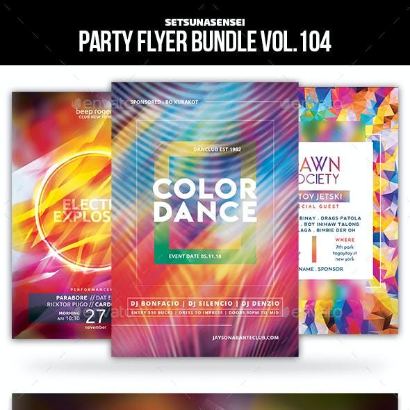 Party Flyer Bundle Vol.104