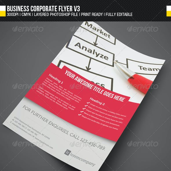 Business Corporate Flyer V3